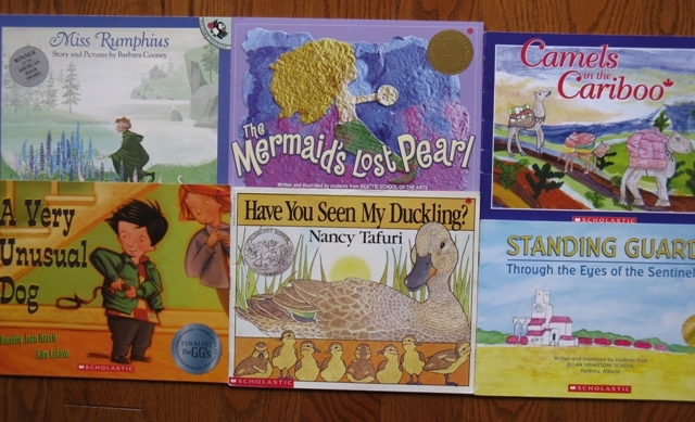 award winning books 5