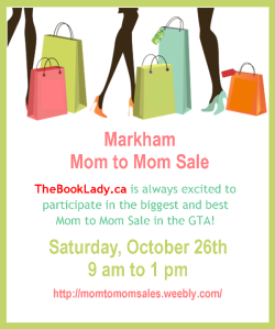 Markham Mom to Mom Sale upcoming events