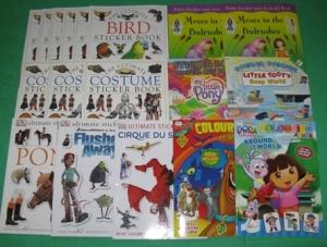 NEW Sticker Books