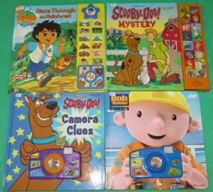 A Sample of Interactive Toddler Books